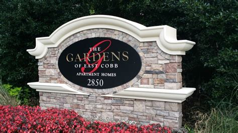 gardens of east cobb monument signs big signs