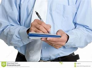 Man Writing Check stock image. Image of cheque, book ...