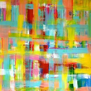 Abstrakte Bilder Acryl : moderne abstrakte malerei als leinwandbild von sibylle rettenmaier ~ Whattoseeinmadrid.com Haus und Dekorationen