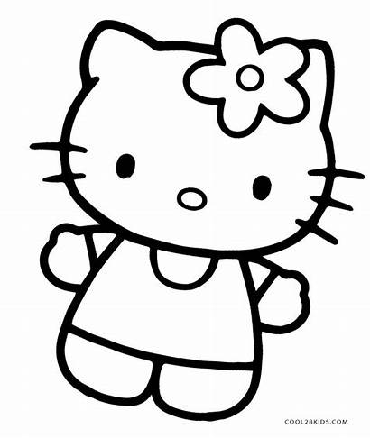 Coloring Pages Toys Kitty Hello Cool2bkids