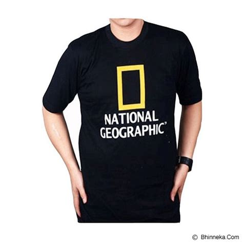 jual jersiclothing t shirt national geographic size xl
