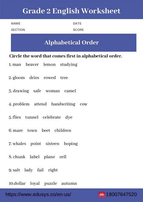 grade english grammar worksheet