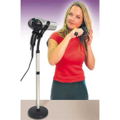 Standing Hair Dryer Reviews hair dryer holder styling stand in hair dryer holders