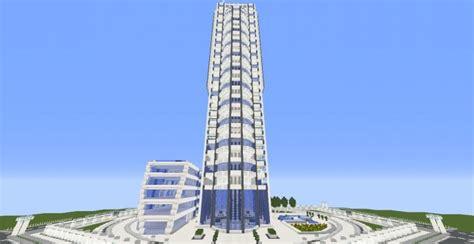 quartz tower  minecraft building