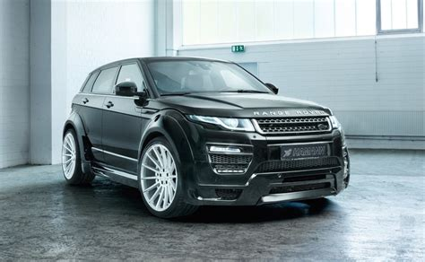 hamann tuning   range rover evoque announced