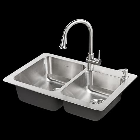 kitchen sinks top mount kitchen sink and faucet combo 1783