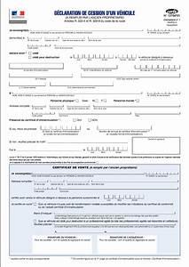 Transfert Carte Grise : certificat de cession d 39 un vehicule a imprimer gratuit ~ Medecine-chirurgie-esthetiques.com Avis de Voitures
