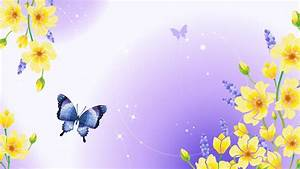 Spring Butterfly HD Background Wallpapers 7767 - HD ...