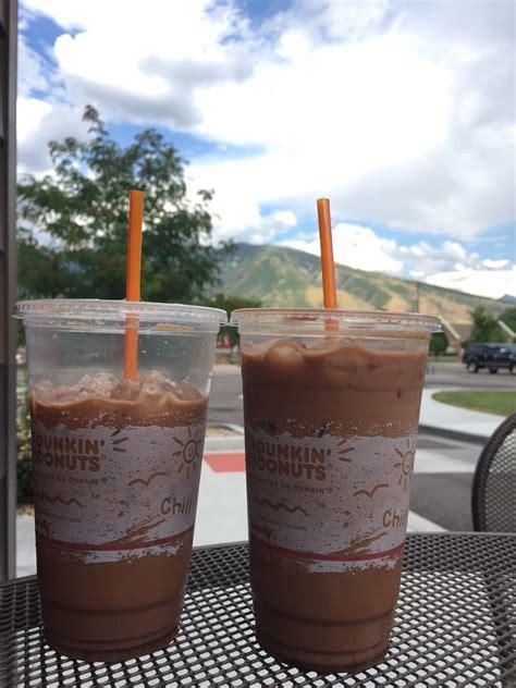 I am so sick of dunkin' donuts coffee. Iced mocha coffee at Dunkin' Donuts in Draper Utah. - Yelp