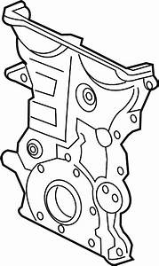 Chevrolet Cruze Engine Timing Cover  Front   1 4 Liter