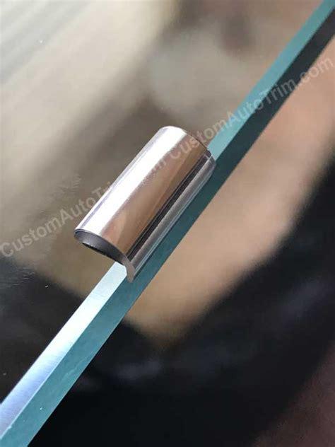 shaped door edge molding black white