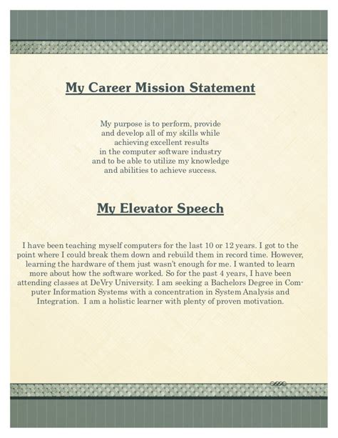 Exles Of Well Written Resumes by Fresh Essays Sle Cv Mission Statement