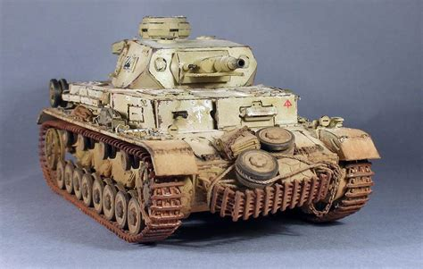 scale model gallery panzer iv ausfe deutches africa