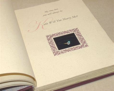 the currier bindery 187 blog archive 187 engagement ring book