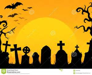 Halloween Graveyard Clip Art