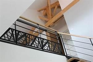 Garde Corps Metal : escalier et garde corps design vend e escaliers ~ Nature-et-papiers.com Idées de Décoration