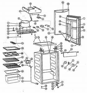 Kenmore 46198479 Compact Refrigerator Parts