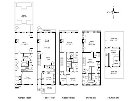 york townhouse floor plans floor plans  york