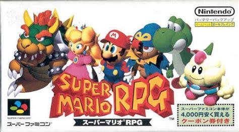 Game Super Mario Rpg Legend Of The Seven Stars Snes