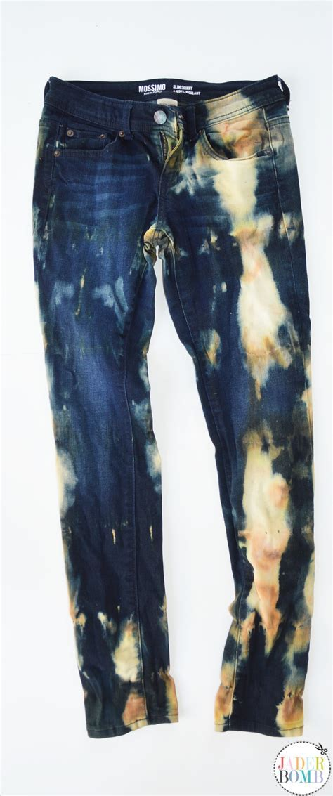 How to Dye Jeans with Tea   AllFreeSewing.com