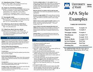 Apa - Citation Guides