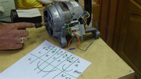 test  washing machine motor