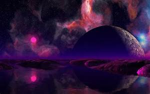 Giant Pink Planet - Pics about space
