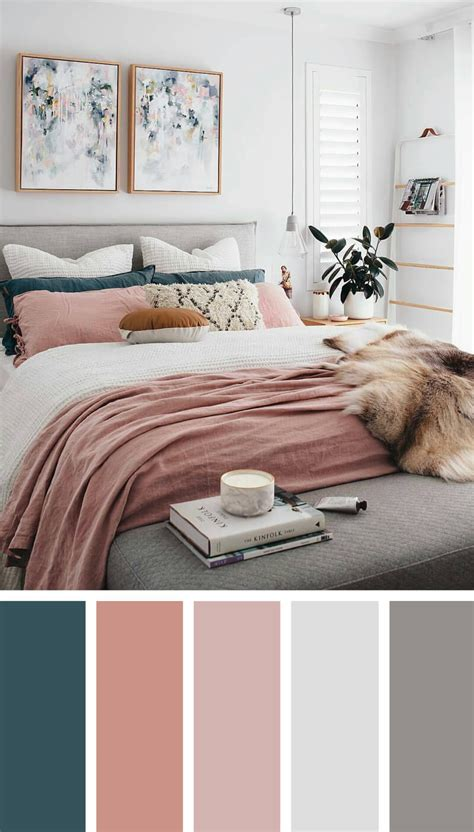 bedroom color scheme ideas  designs