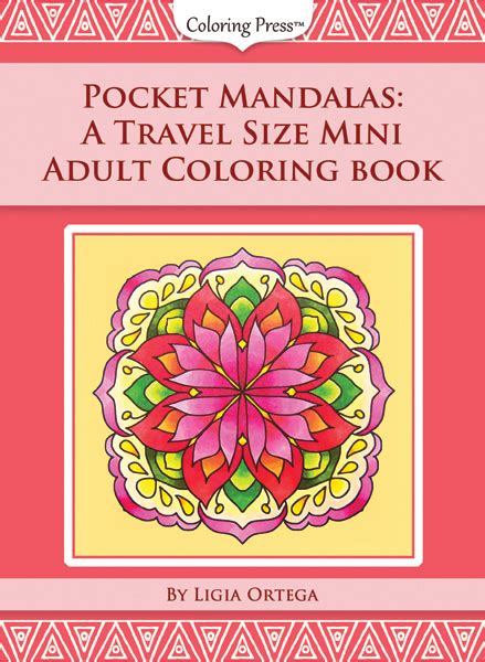 simple mandalas and pocket mandalas coloring press