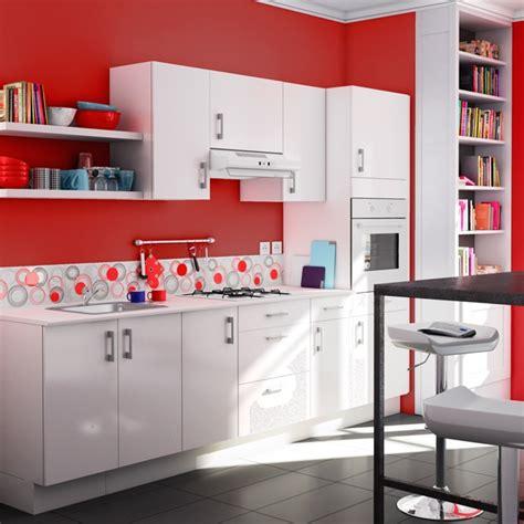 cuisine blanche pas cher cuisine pas cher spicy de chez castorama photo 14 20 un tout petit prix pour cette cuisine