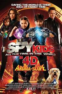 Spy Kids 4: All the Time in the World DVD Release Date ...