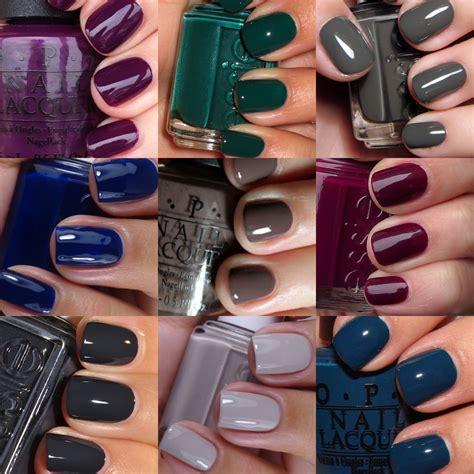 fall color nails fall nail color trends