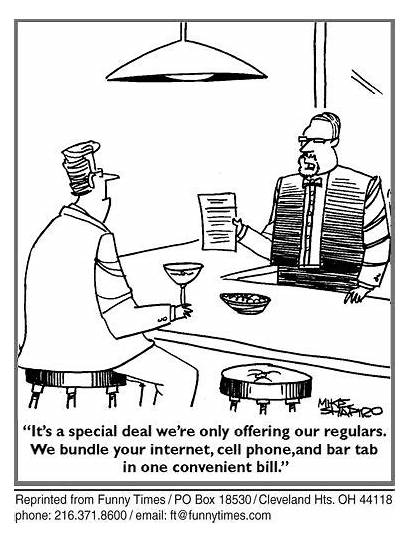 Restaurant Cartoon Funny Cartoons Humor March Bar