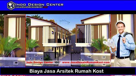 biaya jasa arsitek rumah kost jasa desain rumah kost