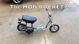 The Mod Rocket - Mini Scooter Gas Conversion
