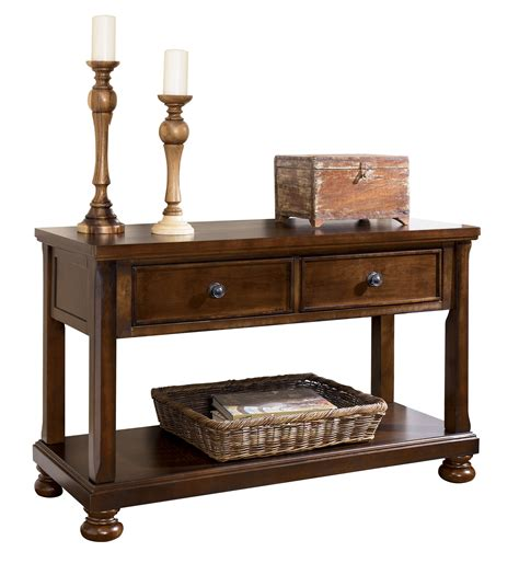 traditional sofa tables acme furniture anondale
