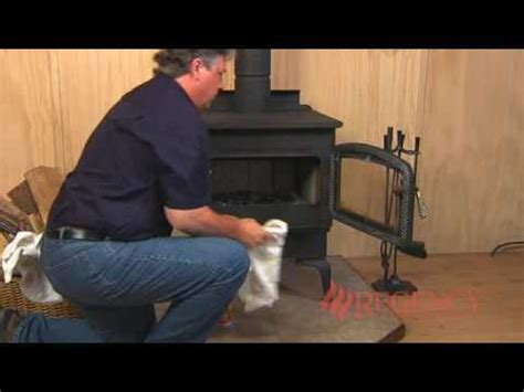 cleaning maintaining  wood stove youtube