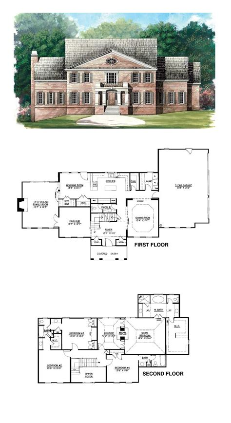 the 49 best images about revival house plans on