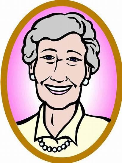 Clipart Grandma Granny Clip Cliparts Ma Cartoon