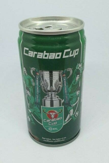 CARABAO CUP EFL 2020 Collectible Can Empty 180 ml ...