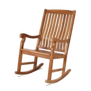 all things cedar tr22 teak outdoor rocking chair lowe s