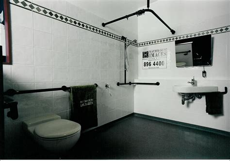 Disabled Bathroom Design by Handicap Bathroom Layout Assistive Technology
