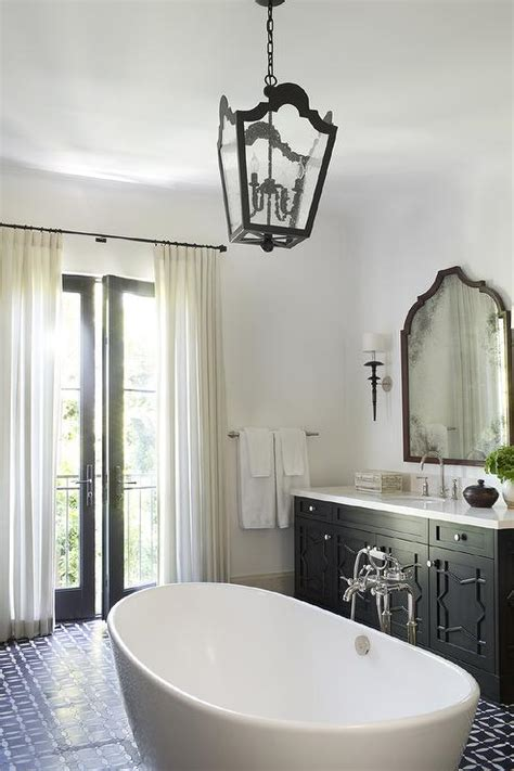 moroccan style bathroom  center   room bathtub