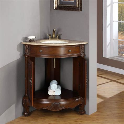 Small Corner Bathroom Sink With Cabinet by 20 Best Corner Bathroom Vanity For Your Bath Ward Log Homes