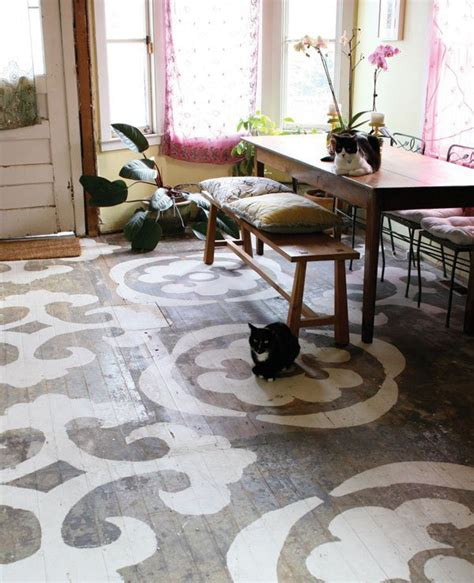 stunning painted floors   inspire