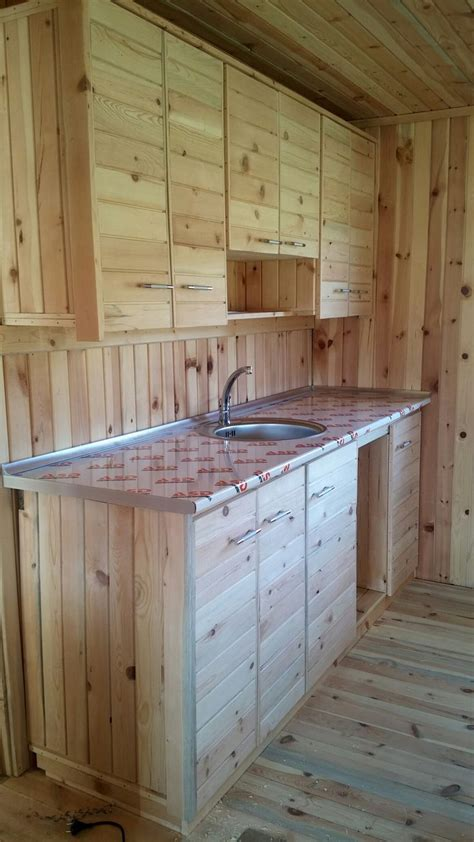17 Best Ideas About Pallet Kitchen Cabinets On Pinterest