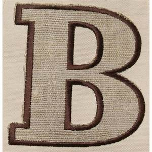 queen bea monogrammed gg tote with applique With varsity letter applique