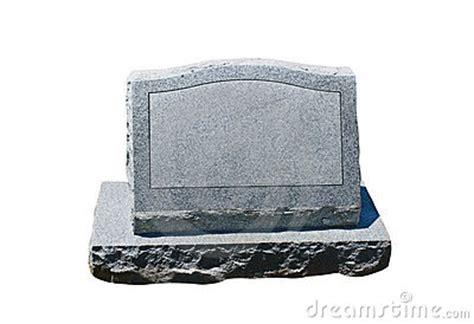 blank headstone stock  image