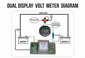 12v Dual Battery Isolator Wiring Diagram Car Boat Marine