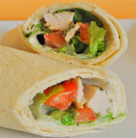 wraps de poulet les recettes de la cuisine de asmaa
